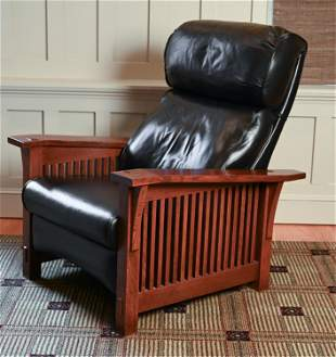 CONTEMPORARY STICKLEY RECLINING LOUNGE CHAIR