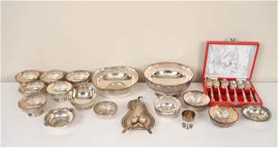 GROUPING OF INDIAN SILVER