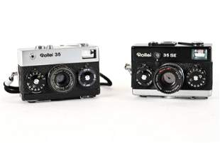 (2) ROLLEI 35 SE AND 35 CAMERAS