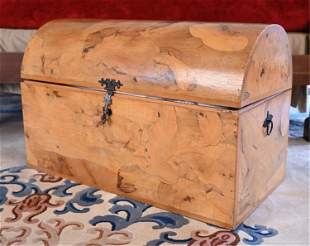 DOME TOP BLANKET CHEST