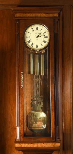 HOWARD MILLER TALL WALL CLOCK