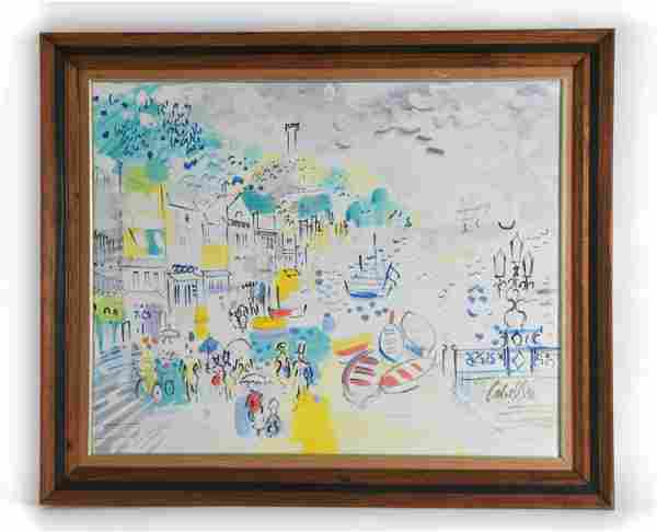 CHARLES COBELLE, FRENCH (1902-1994) O/C PAINTING