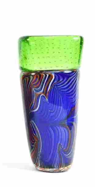 ATTR. VENINI MURANO ART GLASS VASE