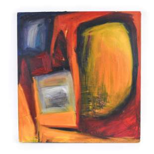 CONTEMPORARY ABSTRACT O/C PAINTING