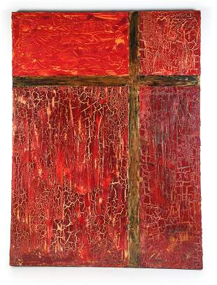 LARGE CONTEMPORARY ABSTRACT PAINTING