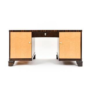 FRENCH ART DECO ROSEWOOD DESK