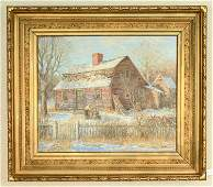 WINFIELD SCOTT CLIME, AMERICAN (1881-1958) O/C