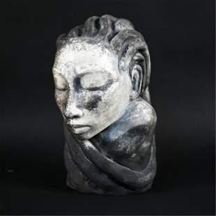 GENE PEARSON, JAMAICAN (B. 1946) CERAMIC SCULPTURE