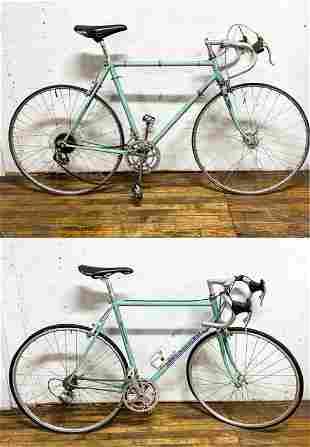 (2) VINTAGE BIANCHI ROAD BICYCLES