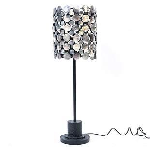 CONTEMPORARY SHELL SHADE LAMP