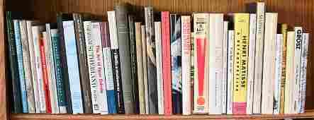 GROUPING OF MODERN ART BOOKS