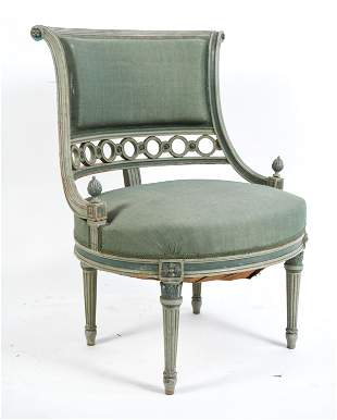 VINTAGE FRENCH LOUIS XVI STYLE CHAIR