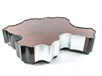 MODERN ABSTRACT FORM COFFEE TABLE
