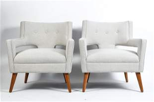 PAIR OF MODWAY INC. LOUNGE CHAIRS