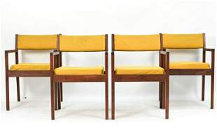 (4) GEORGE NELSON HERMAN MILLER ARMCHAIRS