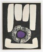 KIM FOON, KOREAN (1924-2013) ABSTRACT O/C, 1963