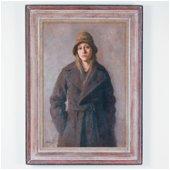 MARY BETH MCKENZIE (B. 1946) SELF PORTRAIT O/C