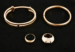 GROUPING OF JEWELRY INCL GOLD FILLED