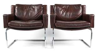 PAIR OF SELIG LOUNGE CHAIRS