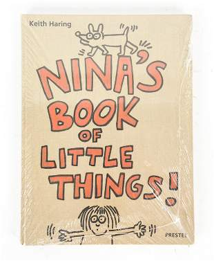 1ST ED. KEITH HARING NINA'S BOOK OF LITTLE THINGS