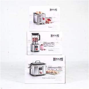 NEW IN BOX WOLF APPLIANCE GROUPING
