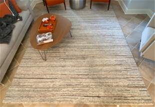 SURYA CONTEMPORARY HAND-KNOTTED RUG