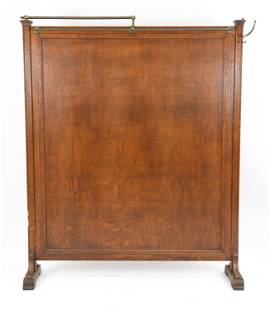 EARLY 20TH C. MEDICAL ROOM DIVDER SCREEN