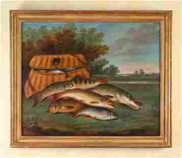 EDWARD COLEMAN, BRITISH (D. 1867) O/C