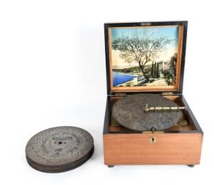 KALLIOPE MUSIC BOX & DISCS