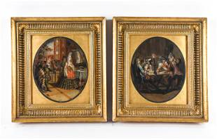 PAIR OF EARLY 18TH C. ITALIAN OLD MASTERS