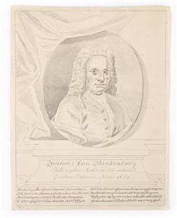 JACOB JAN NACHENIUS, DUTCH (1709-1752) DRAWING