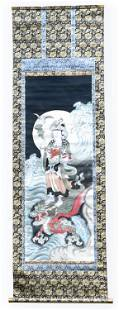 CHINESE SCROLL PAINTING QUANYIN