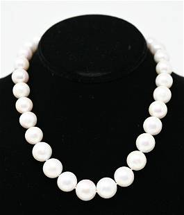 SOUTH SEA PEARL NECKLACE - 18K CLASP