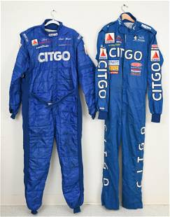 GROUPING OF RACING SUITS INCL. SPARCO, SIMPSON