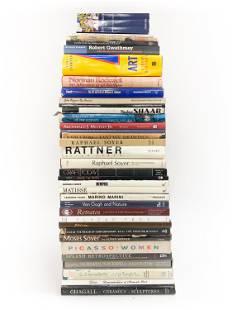 LARGE GROUPING OF MODERN ART BOOKS
