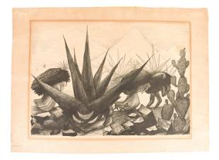 MEXICAN LITHOGRAPH