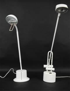 (2) MODERN DESK LAMPS
