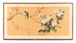 CONTEMPORARY CHINESE SCROLL PAINTING