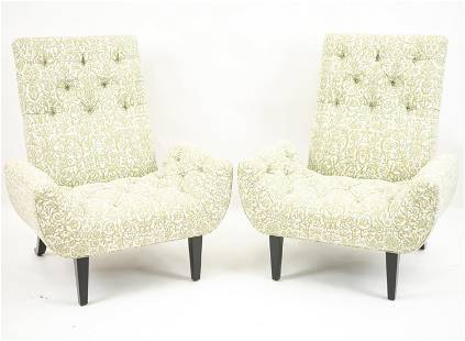 PAIR OF NEO-CHESTER CHAIRS BY PATRICK NAGGAR