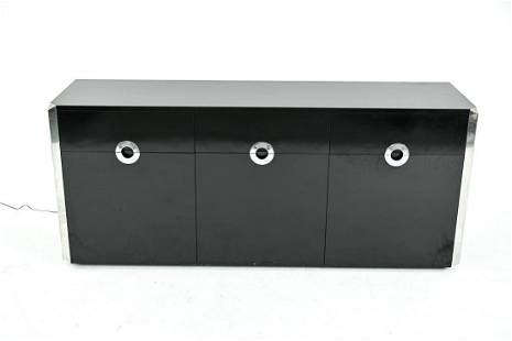 WILLY RIZZO FOR MARIO SABOT DECO-STYLE CREDENZA