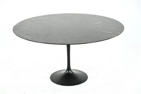 SAARINEN FOR KNOLL MARBLE TOP TULIP TABLE