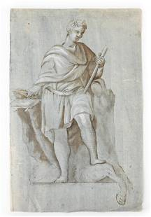 17TH C. OLD MASTER DRAWING