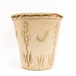 18TH C. FRENCH EARTHENWARE JARDINIERE