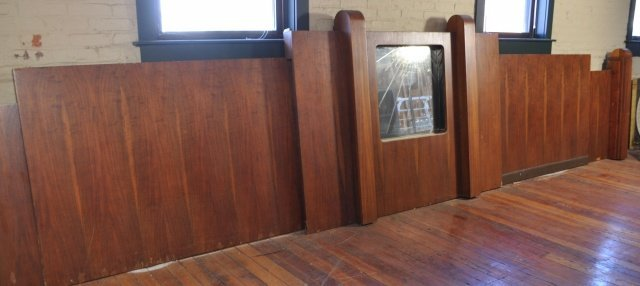 21: LARGE ART DECO ARCHITECTURAL BACK BAR