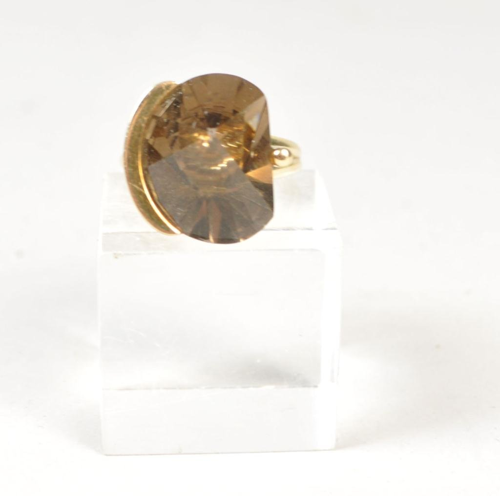 14K GOLD & CITRINE RING