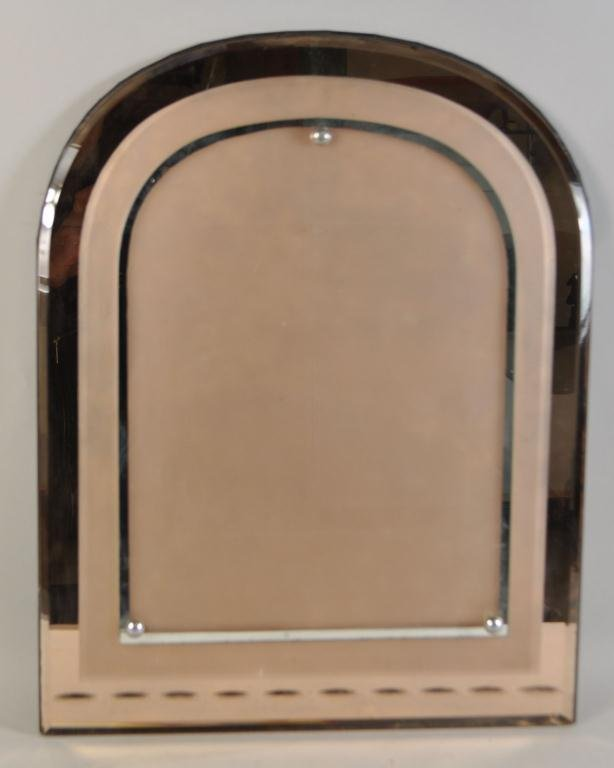 ASPREY LONDON PEACH GLASS MIRRORED PICTURE FRAME