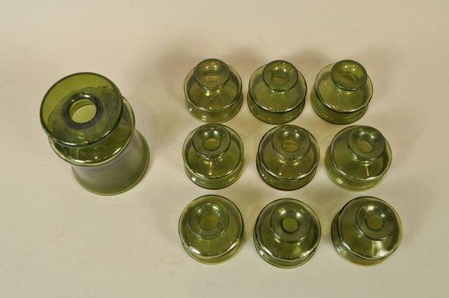 JENS QUISTGAARD DANSK DESIGNS FRANCE GLASS VASES - 2