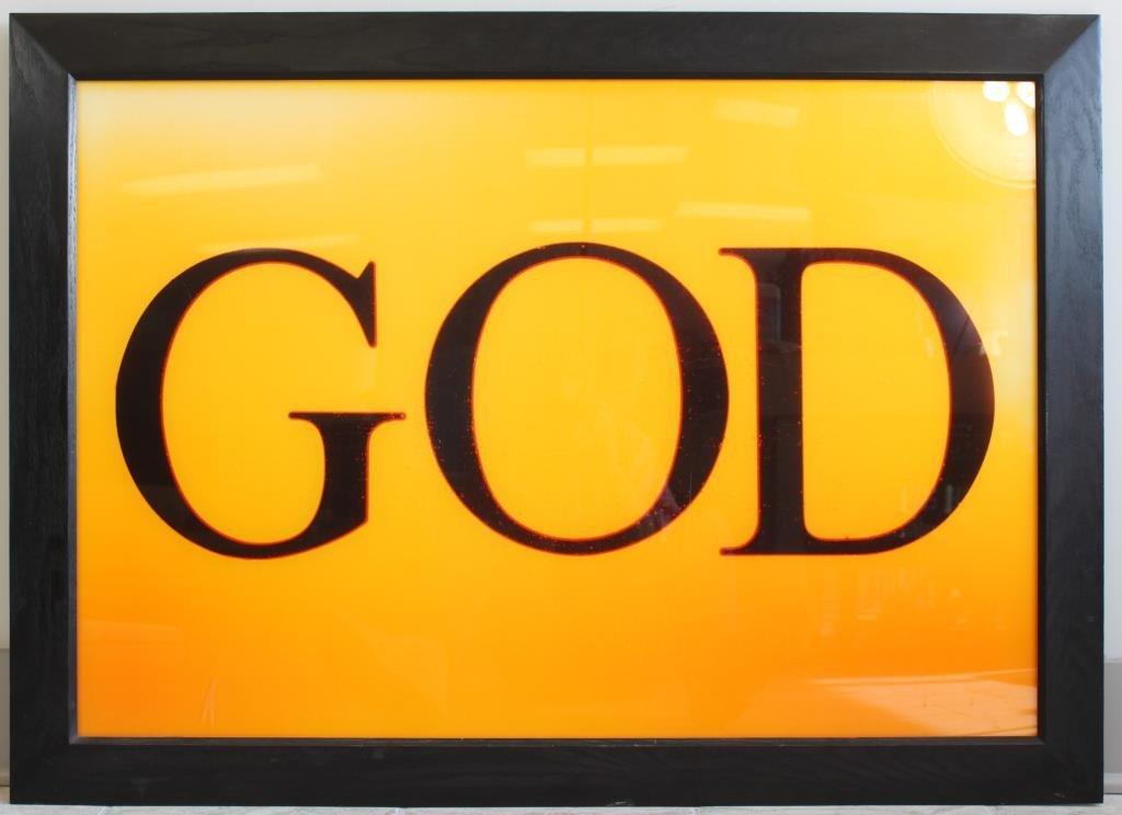 ANDRES SERRANO (AMERICAN 1950- ) PISS GOD 1988