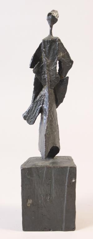 MARIO NEGRI (ITALIAN 1916 - 1987) ABSTRACT BRONZE