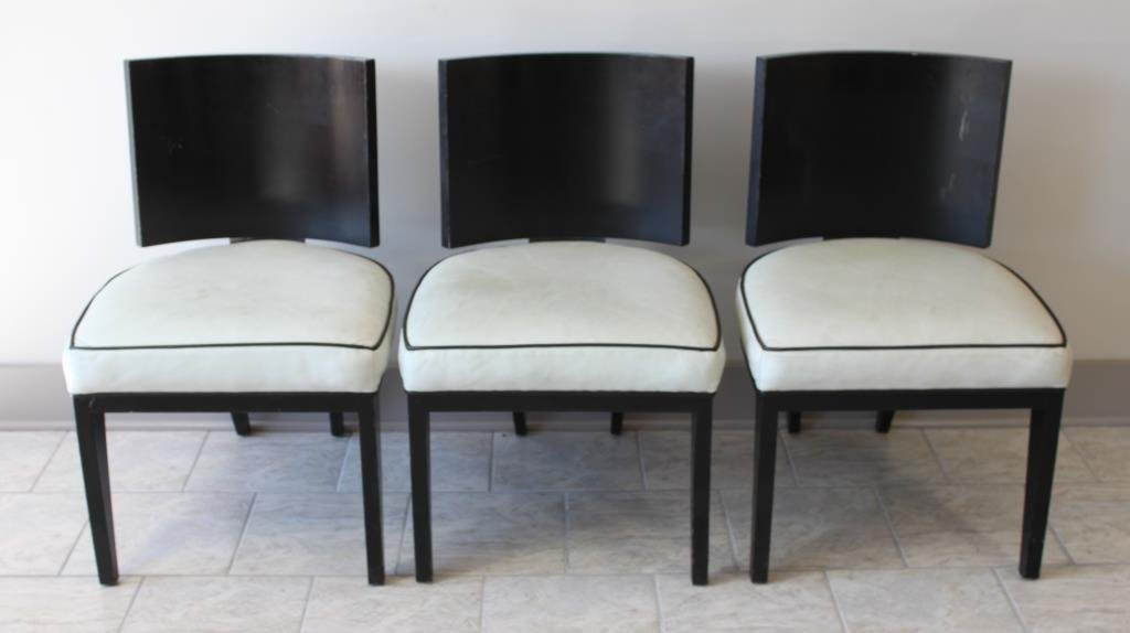THREE CHAIRS BY LARRY LASLO